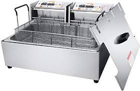 Zz Pro <b>12L Commercial</b> Deep Fryer Countertop Cookware Large ...