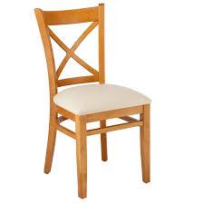 August Grove Helms Cross Back Solid Wood Dining Chair | Wayfair