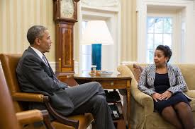 Obama And Cabinet President Obama Meets With Us Attorney General Loretta Lynch