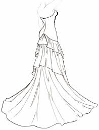 Small Picture Wedding Dress Designs Coloring Pages 6209 Bestofcoloringcom