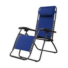 caravan sports infinity blue metal zero gravity patio chair