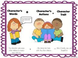 mon core teacher 39 s toolbox character traits