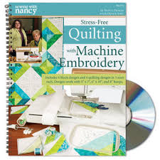 Nancy Zieman/Quilting with Machine Embroidery/How to quilt | Nancy ... & Stress-Free Quilting with Machine Embroidery Nancy Zieman & Denise Abel Adamdwight.com