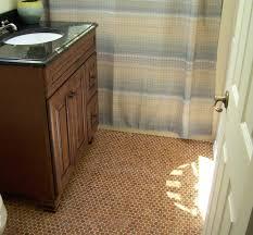 cork flooring in bathroom image of penny bathroom floor tile herringbone bathroom floor tile