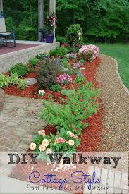 diy gravel walkway tutorial