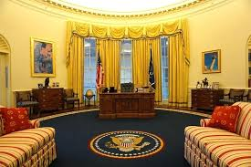 clinton oval office. Clinton Oval Office Decor Presidential Library And Museum S