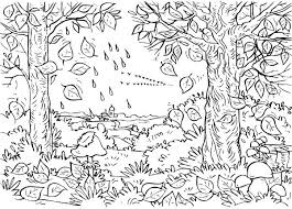 Small Picture Fall Coloring Pages For Adults Coloring Coloring Pages