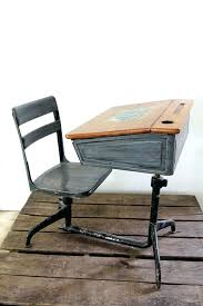 vintage school desk and chair school desk and chair vintage school desk desk via child school