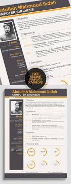 resume templates downloads free 23 free creative resume templates with cover letter freebies