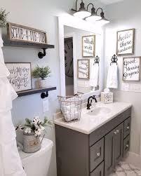 farmhouse bathroom by blessed ranch farmhouse decor