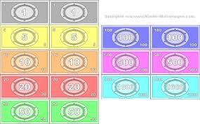 Hier können sie die perfekte vorlage direkt und kostenlos downloaden. Spielgeld Ausdrucken Vorlagen