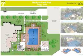 Backyard Pool Landscaping Site Plan Landscape Backyard Google Search Landscape Plans