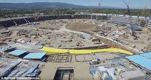 apple new office. The Massive Apple Showed Off Progress Of Its Campus 2, Which Was New Office C