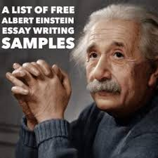 albert einstein essay topics titles examples in english  albert einstein essay