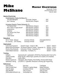 Sample Resume For Electrical Technician Journeyman Electrician Resume Skills Experience Resumes Electrical 18