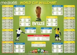 Media66 World Cup Wall Chart