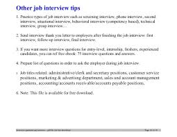 Questions For Second Interview Questions To Ask During A Second Interview Under Fontanacountryinn Com