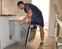 how to install built in oven in cabinet