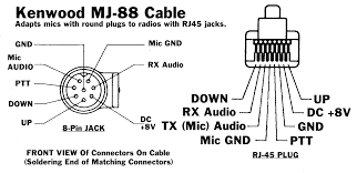 kenwood mic wiring diagram images kenwood mic wiring for