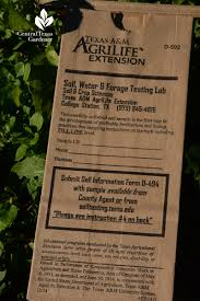now s also a good time to get your soil tested for its nutrient numbers