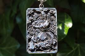 stainless steel pendant guan yu