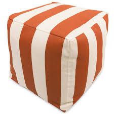 Black And White Pouf Bean Bag Furniture Pouf Ottomans Patio Furniture Majestic