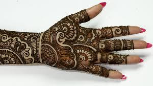 Latest Mehandi Design For Hand Latest Arabic Eid Mehndi Design Mehndi Design Full Hand