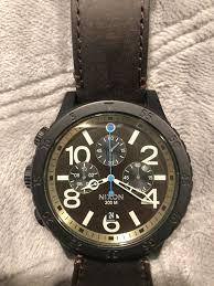 nixon 48 20 chrono leather