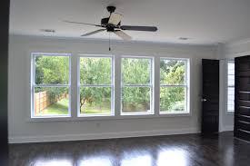 master bedroom wall of windows