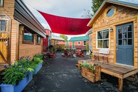tiny houses portland or. Exellent Houses Checking In With Portlandu0027s Tiny House Hotel For Houses Portland Or