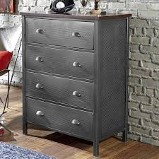 Hillsdale Urban Quarters Contemporary Metal Chest