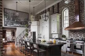 the kitchen in a pre civil war home in charleston