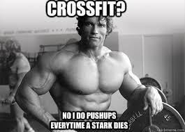 Crossfit? No I do pushups everytime a Stark dies - Misc - quickmeme via Relatably.com