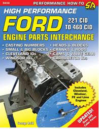 the ford 289 and 302 engine block high performance ford engine parts interchange