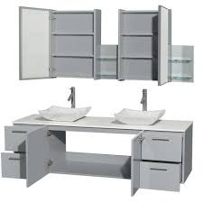 gray double sink vanity. amare 72\ gray double sink vanity