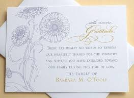 Personalized Sympathy Thank You Cards Personalized Sympathy Thank You Cards U For Funeral Catholic Uk
