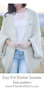 Easy Sweater Knitting Pattern Free Cool Inspiration