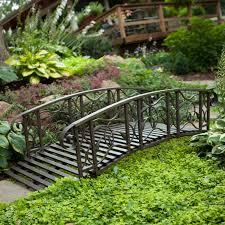 metal garden bridge hayneedle