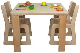 children s white wooden table and chairs toddler ikea cherry wood