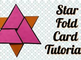 Fold Star Fold Card Tutorial Star Fold Card Tutorial