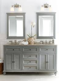 Gorgeous In Grey Double The Fun This Bath Vanity Is A Master - Bathroom lighting pinterest