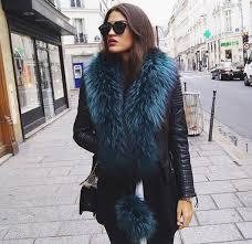 jacket fur leather leather jacket shoes women fashion