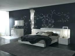 dark blue bedroom walls. Black And Dark Blue Bedroom Curtain Wall Art Neutral Bedding Tied White Walls