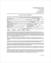 Sale Of Business Agreement Impressive 44 Sample Business Listing Agreements Sample Templates
