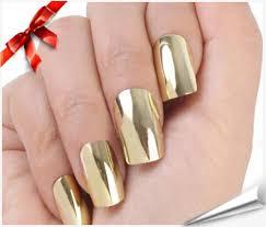 com : Brightdeal 24 Pcs Super Star Nail Art Polish Gold and Silver ...