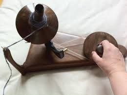 wooden yarn ball winder photograph this is the