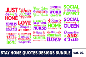 Here are 10 free svg quote designs that you can use for personal or commercial use. Free Download Stay At Home Bundle