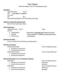Resume Awards Section