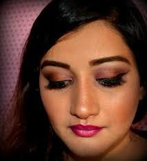 mac rebel lipstick indian party makeup tutorial