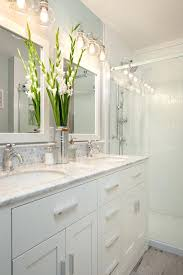 shabby chic bathroom lighting. Shabby Chic Bathroom Lighting Homemade Light Fixtures Ideas Traditional With Eclectic Hex Tile Faux Wood
